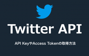 Twitter APIを使うためのAPI KeyやAccess Tokenの取得方法|アプリケーションの利用申請から紹介